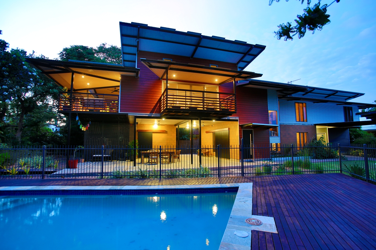 ELEVATED new house