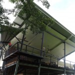 awnings and seat