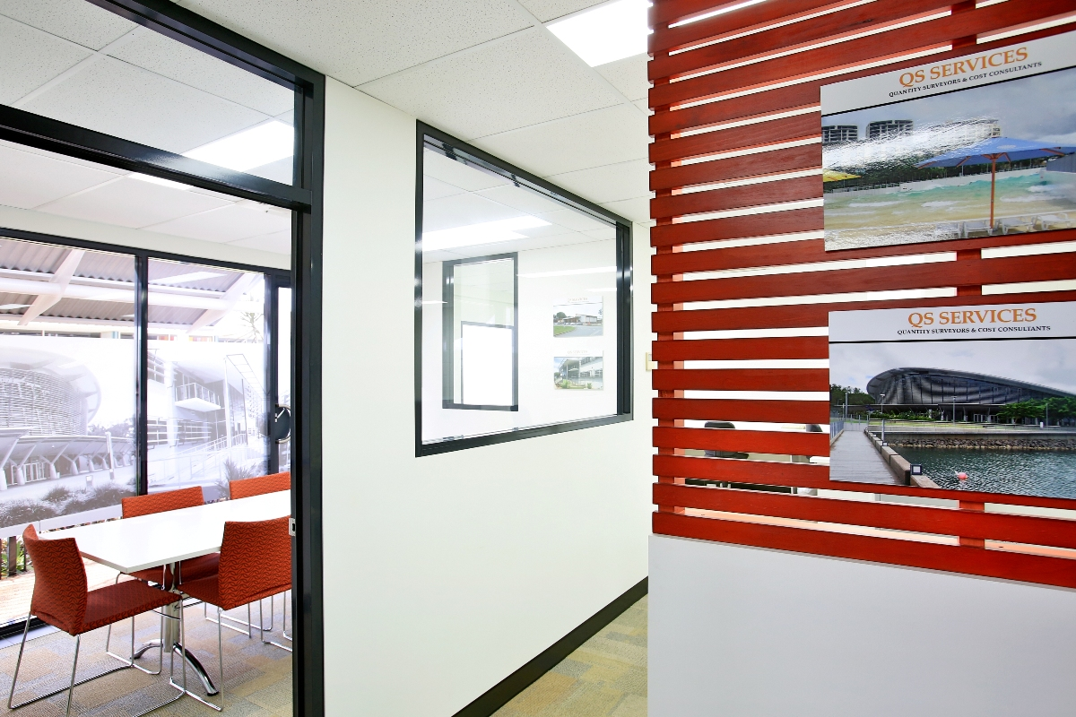QS Services - office designed by architect Jo Rees